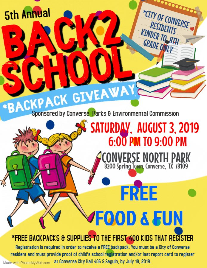 5th annual back to School bash