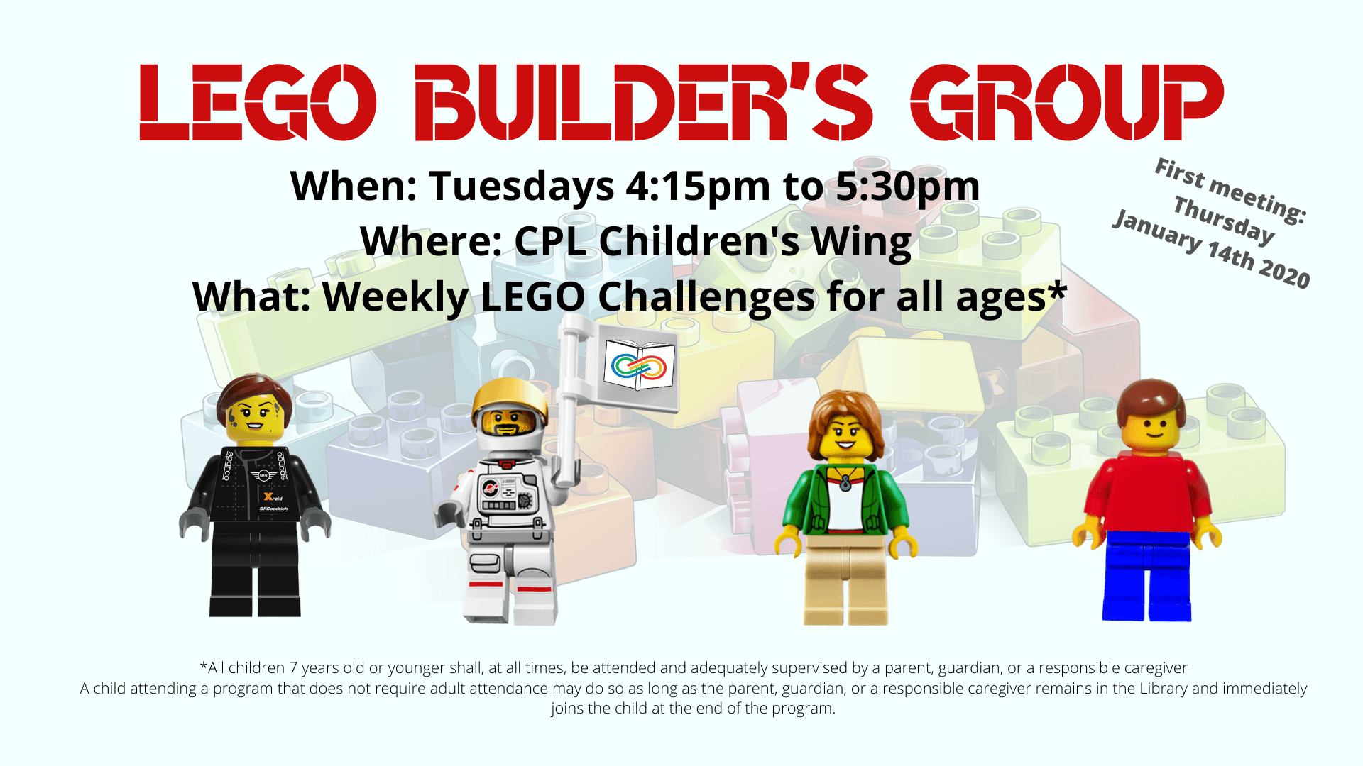 New Lego Builders Group Flyer